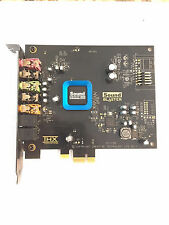 HP / CREATIVE SOUND BLASTER RECON3D PCI-E X1 5.1CHANNELS SOUND CORE SB 1350-HP