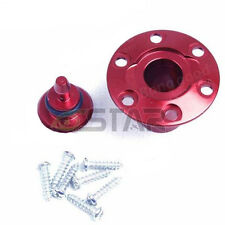 Fuel Dot for Gas - Nitro Planes aluminum CNC ( Red Color) S​crews Include