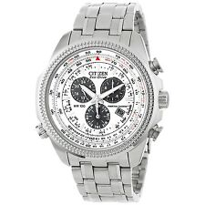 New Citizen Perpetual Calendar Eco-Drive Mens Stainless Steel Watch BL5400-52A
