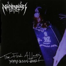 NACHTMYSTIUM - The First Attacks: Demos 2000-2001  [Re-Release] CD