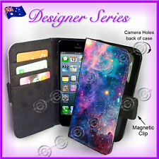 Designer Apple iPhone 5C Wallet Flip Card Case Aztec Colour Galaxy 7