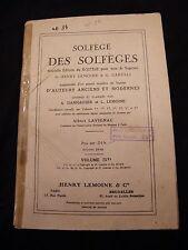 Partition Solfège des Solfèges Danhauser Lemoine Volume 3D Music Sheet