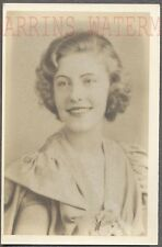 Unusual Vintage Photo from Frame Pretty Girl in Portrait 736333
