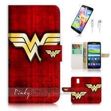 Samsung Galaxy S5 Flip Phone Case Cover PB10989 Wonder Woman