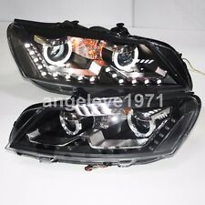 2011 to 2014 year For VW Passat V6 B7 LED Angel eyes Lights Front Lamps TLZ