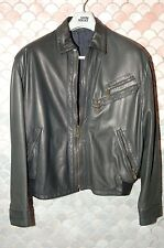 Gianni Versace True Vintage Fall/Spring Leather Jacket, US 42/44, Mint NOS