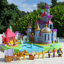 Polly Pocket Disney Belle Beauty and the Beast 100% complete Magical Castle