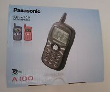 Panasonic A100 - Black (Unlocked) Cellular Phone Boxed