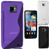 NEW SAMSUNG GALAXY S2 S LINE GRIP GEL SERIES STYLISH CASE COVER FOR i9100 FITS