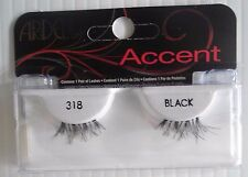 Ardell Strip Lashes Fashion Accent 318 Black (Pack of 6)