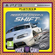 NEED FOR SPEED SHIFT Platinum PS3 (Sony PlayStation 3) Brand New