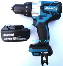 "New Makita 18V XPH07 LXT Brushless 1/2"" Hammer Drill, (1) BL1830 Battery 18 Volt"