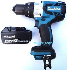 """New Makita 18V XPH07 LXT Brushless 1/2"""" Hammer Drill, (1) BL1830 Battery 18 Volt"""