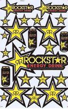 New Rockstar Energy Motocross ATV Racing stickers/decals. 1 sheet (st78)