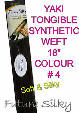 J'Adore / Sleek / Sensationnel  Soft N Silky Tongable Synthetic Weave/Weft 18""