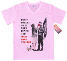 Punk Mom by Banksy T Shirt
