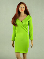 1/6 Phicen, Hot Toys, Hot Stuff, ZC, Kumik, Vogue Female V-Neck Fashion Dress
