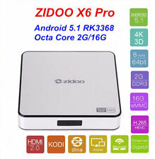 ZIDOO X6 Android 5.1 Lollipop Smart TV Box 4K Streaming Media Player Mini PC