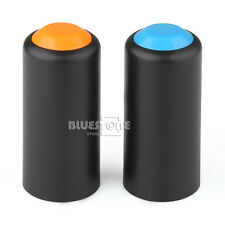 2 x Wireless Mic Battery Screw On Cap/Cup/Cover for Shure PGX2 /SLX2 2 Colors