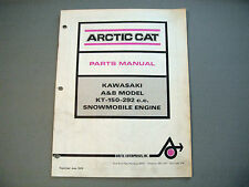 Vintage Arctic Cat / Kawasaki Engine Parts Manual KT-150-292cc A & B Models P.P.
