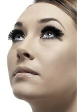 Small Feather Eyelashes Black New Adult Halloween Cristmas Womens Makeup Fever