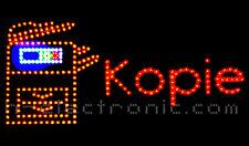 LED Schild Kopie shop Leuchtreklame Neon Schilder XXL Blinken Laden geöffnet