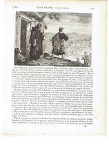 """1825 """"Saint Hilaire Eveque d'Arles"""" (Sant'Ilario di Arles San Hilario Hilarius)"""