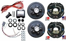 Add Brakes to Your Trailer Complete Kit 3500 Axle 5 x 4.5 Dexter Backing Plates