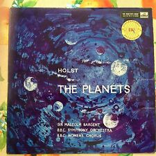 ASD 269  HOLST  The Planets  MALCOLM SARGENT  FIRST LABEL  LP
