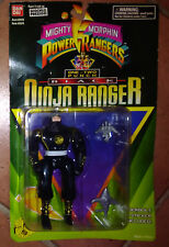 MIGHTY MORPHIN - POWER RANGERS - NINJA - ONE-TWO PUNCH - BLACK - BANDAI
