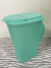 Tupperware Impressions One Gallon Pitcher Mint New
