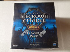 WOW World of Warcraft TCG Icecrown Citadel factory sealed box of Treasure packs