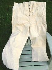 The H.D. Lee Co. Cotton Work Pants / Lot D 54 W / Deadstock / USA / 44 x 30