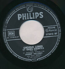 "JOHNNY HALLYDAY 45 TOURS 7"" BELGIUM DU RESPECT (DE OTIS REDDING)+"