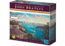 NEW Blue Opal Jigsaw Puzzles Deluxe 1000 Pc Puzzle Sydney Harbour - John Bradley