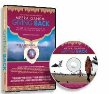 Meera Gandhi Giving Back Documentary DVD NEW Factory Sealed