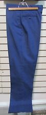 NWOT US Army Poly/Wool Blue Dress Uniform Trousers 35S Classic ASU