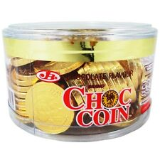 60 coins in 1 Box CHOC COIN chips gourmet milk chocolate candy gift box food NEW