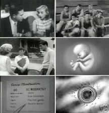 Sex Education Reproduction Puberty Vintage Films 1930s To 1950s DVD