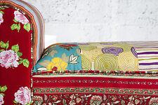 Panca Patchwork Design 100cm x 55cm 30cm di principessa nuovo conf. orig. WOW