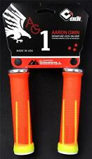 ODI AG-1 Aaron Gwin Signature Lock-On MTB / DH Bike Grips 135mm - Orange Yellow