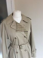 Four Seasons Ladies Trench/Mac/Rain Coat size 14  double breasted Cost £249 New!