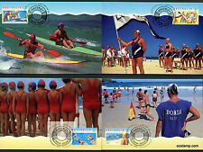 1994 Lifesaving Centenary Maxi Cards Prepaid Postcard Maxicards Stamps