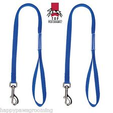 "2-18"" PET Dog Cat NYLON RESTRAINT Noose LOOP for Grooming Table Arm Bath*BLUE"