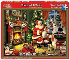 White Mountain Puzzles Christmas Jigsaw Puzzles 1000 Piece Jigsaw Puzzles New