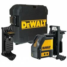 Dewalt DW088K CLL Cross Line Self Levelling Laser Level Kit + Wall Bracket +Case