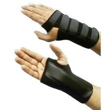 Small Black Neoprene Adjustable Right Hand Wrist Palm Support Splint Brace Gym S