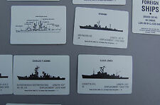 MINT International Military Aircraft and Ships Study Cards NOS vintage 1993