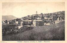 190) FONNI (NUORO) PANORAMA. VIAGGIATA NEL 1951.