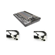 Behringer Eurodesk SX2442FX-PRO 24-Channel Recording Mixer (2 XLR Cables Free)